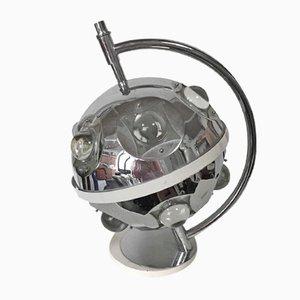 Kugelförmige Tischlampe von Oscar Torlasco für Lumi, 1970er