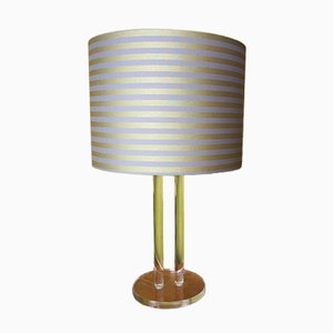 Acrylic Table Lamp, 1980s