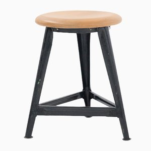 Industrial Stool, 1940s