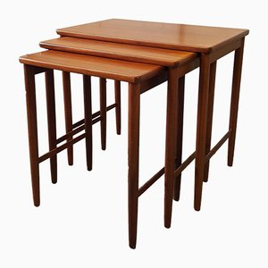Mid-Century Rosewood Nesting Tables from Opal Möbel