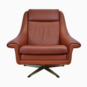 Matador Swivel Lounge Chair by Aage Christiansen for Erhardsen & Andersen, 1960s
