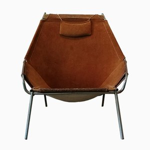 Danish J361 Lounge Chair by Erik Ole Jørgensen for Bovirke, 1960s