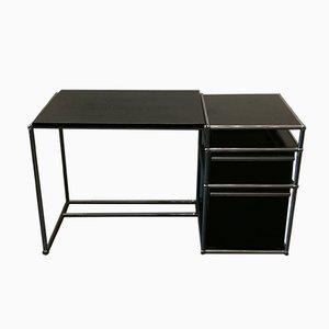 Schwarzer Metall Schreibtisch Von Usm Haller 1980er Bei Pamono Kaufen
