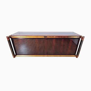 Madagascar Wood Sideboard by Paulo Barracchia for Roman Deco, 1970s