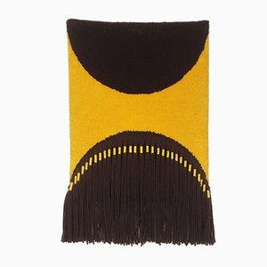 Alfombra colgante vintage de macramé de Atelier Für Teppichkunst, años 70