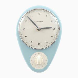 Mid-Century Küchen Uhr von Max Bill für Junghans, 1950er