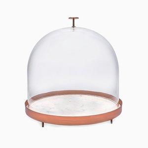 Campana per dolci grande New Moon in vetro soffiato di Elisa Ossino per Paola C.