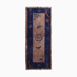 Tapis Art Déco Fait Main, Chine, 1920s