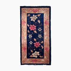 Antiker & handgearbeiteter chinesischer Art Deco Teppich, 1920er