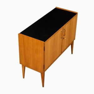 Cherry Veneered Cabinet from WK Möbel, 1950s