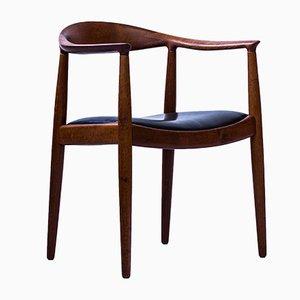 The Chair o sedia nr. JH-501 di Hans J. Wegner per Johannes Hansen, anni '60