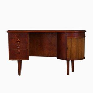 Dänischer Vintage Schreibtisch mit Teak Furnier von Kai Kristiansen