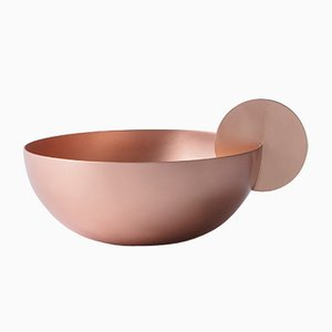 Red Moon Small Copper Bowl by Elisa Ossino for Paola C.