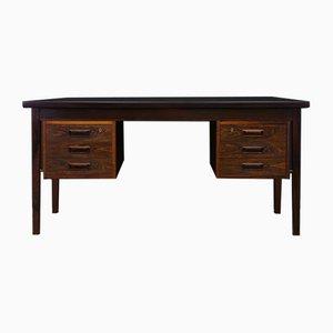 Dänischer Vintage Schreibtisch mit Palisander Furnier