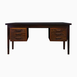 Vintage Danish Rosewood Veneer Writing Desk