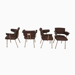 Resort Chairs by Friso Kramer for Ahrend De Cirkel, 1974, Set of 4