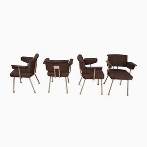 Resort Stühle von Friso Kramer für Ahrend De Cirkel, 1974, 4er Set