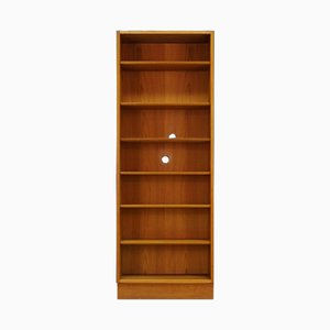 Vintage Danish Ash Veneer Bookcase from Hundevad & Co.