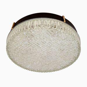 Einbauleuchte aus Glas für Decke oder Wand von N. Leuchten, 1960er