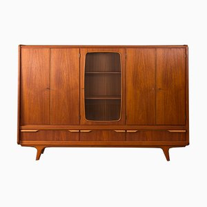 Danish Teak Veneered Cabinet, 1960s