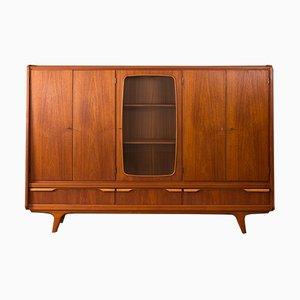 Mueble danés chapado en teca, años 60