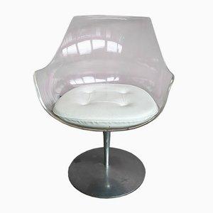 Chaise Champagne par Estelle Laverne pour Formes Nouvelles, 1960s