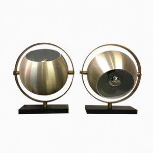 Lámparas de mesa de Stilux, años 70. Juego de 2