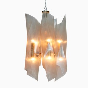 Chandelier by Angelo Lelli for Arredoluce Monza , 1960s
