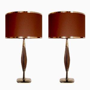 Lampes de Bureau Vintage de Laurel, 1970s, Set de 2