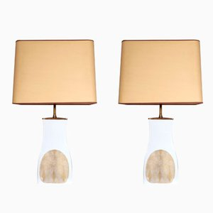 Porcelain Table Lamps by Lorenz Hutchenreuther, 1960s, Set of 2