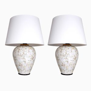 Murano Glass Lamps by Alain Delon, 1970s, Set of 2