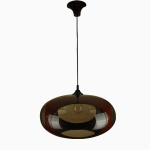Belgian UFO Pendant Lamp from Massive, 1970s