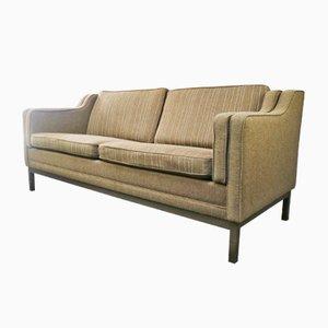 Danish Brown Sofa, 1970s