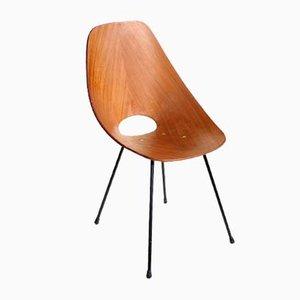 Medea Stuhl aus Bugholz von Vittorio Nobili für Fratelli Tagliabue