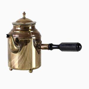 Schwedische Vintage Messing Kaffeekanne von S & Co. Borlange