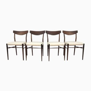 Mid-Century Chairs from Lübke, Set of 4