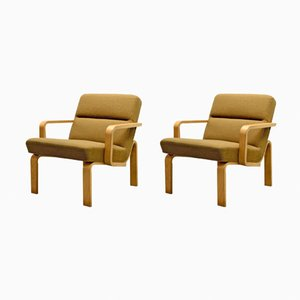 Lounge Chairs by Rud Thygesen for Magnus Olesen, 1970s, Set of 2