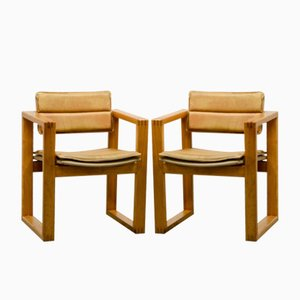Beistellstühle von Ate van Apeldoorn für Houtwerk Hattem, 1960er, 2er Set
