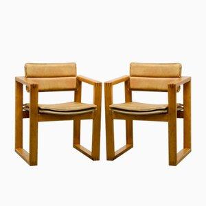 Chaise d'Appoint par Ate van Apeldoorn pour Houtwerk Hattem, 1960s, Set de 2