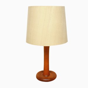 Danish Teak Table Lamp from Dyrlund, 1960s