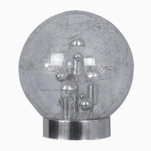 Lámparas de mesa Planet de Doria Leuchten, años 70. Juego de 2