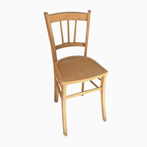 Vintage Wooden Bistro Café Chair from Luterma