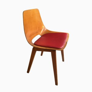 Mid-Century Barrel Chair by Pierre Guariche for Steiner, 1950s