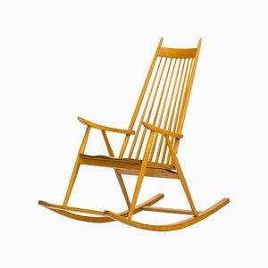 Chaise à Bascule par Varjosen Puunjalostus pour Uusikyla, Finlande, 1960s