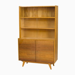 Mid-Century Bookcase with Cabinet, 1960s