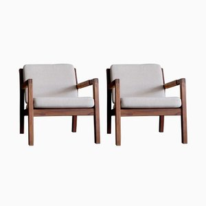 Model Rialto Armchairs by Carl Gustav Hiort af Ornäs, 1950s, Set of 2