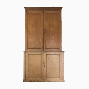 Antique Pine Storage Cabinet