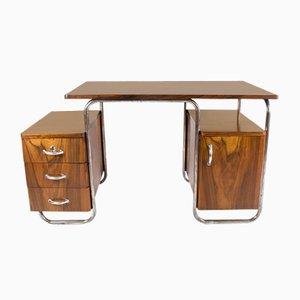 Vintage Bauhaus Style Writing Desk