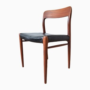 Teak Model 75 Dining Chair by Niels Otto (N. O.) Møller, 1960s