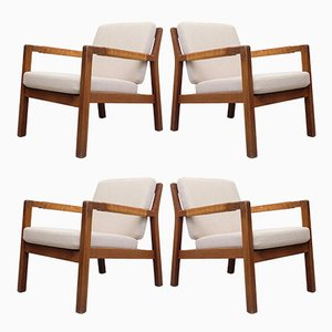 Rialto Armchairs by Carl Gustav Hiort af Ornäs, 1950s, Set of 4